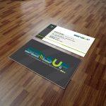 Création graphique à Lannion : cartes de visite SensUp