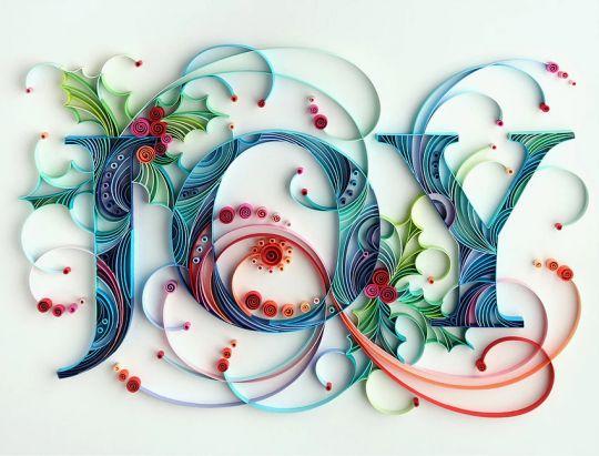Des petits bouts de papiers collés deviennent des œuvres d'art ….